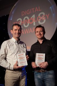 Winners at ScotlandIS Digital Technology Award
