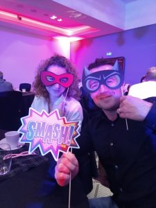 Superhero theme at ScotlandIS Digital Technology Award