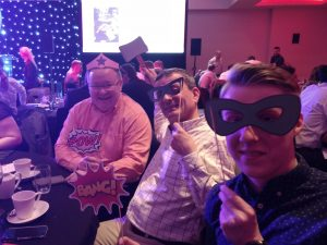 Winning team at ScotlandIS Digital Technology Award